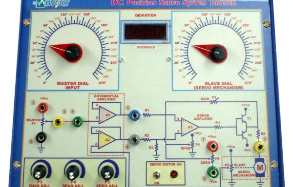 AC Position Servo System Demonstrator Model PCT 001