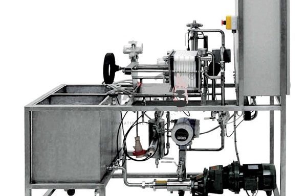 Automated Pilot Plant with Filter Press and Micro-filter ENV 016
