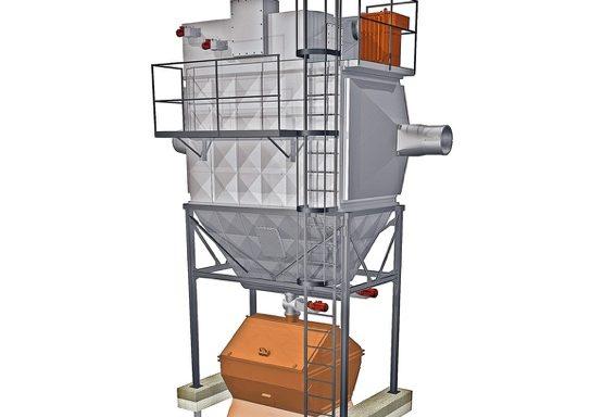 Centrifugal Electrostatic Precipitator ENV 019