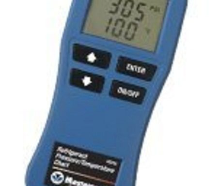 Digital Pressure Temperature Calculator Model RAC 065