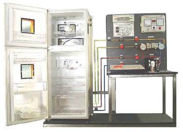 Double cell Refrigerator Unit with Simulator Model RAC 032