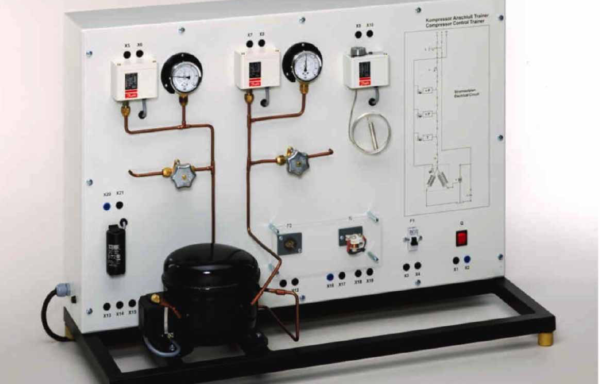 Electrical Connection of Refrigerant Compressors Model RAC 083