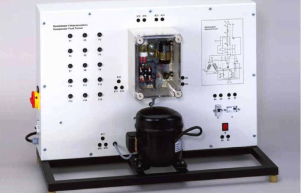 Electrical Faults in Refrigerant Compressors Model RAC 084
