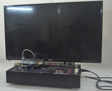 LED COLOUR TELEVISION Trainer Model ETR 058
