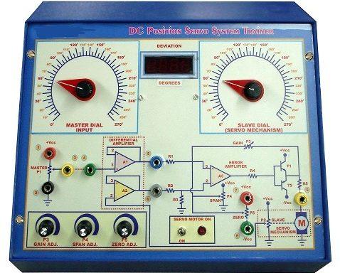 DC Position Servo System Demonstrator Model PCT 014