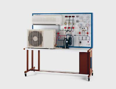 Simulation of Air Conditioning Plant Model RAC 038