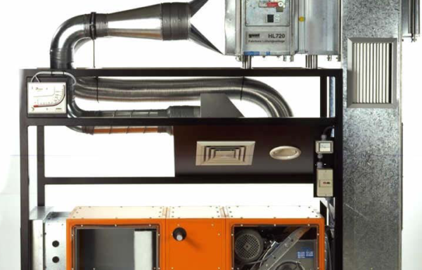 Ventilation Systems Trainer Model RAC 030