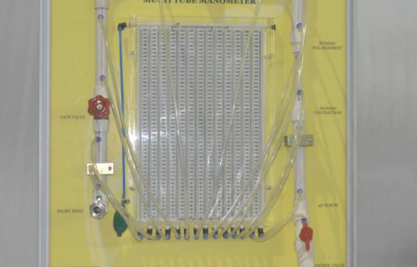 Fluid Mechanics: Pressure Loss in Bends & Fittings MODEL FM 05