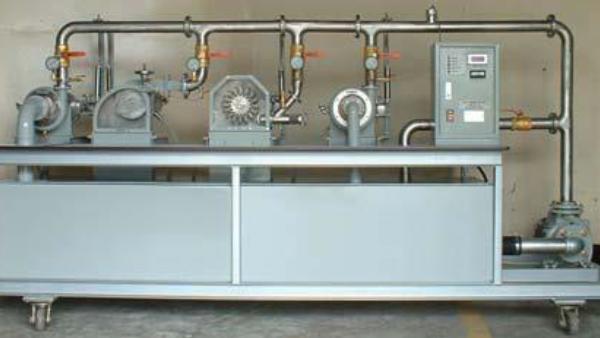 Multi-Turbine Set: Pelton, Francis, Kaplan Model FM 102
