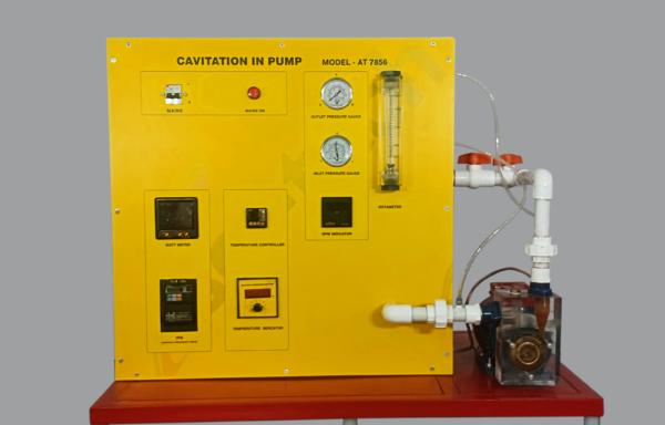 Cavitation in Pumps Apparatus Model FM 114