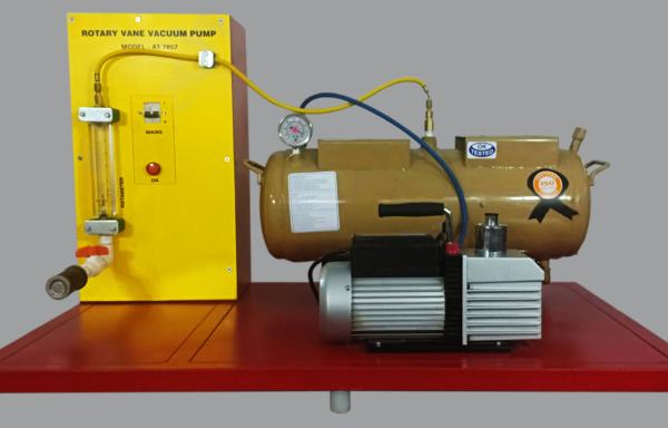 Rotary Vane Vacuum Pump Test Apparatus Model FM 94