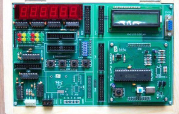 AVR EMBEDDED TRAINER KIT Model MIC 005D