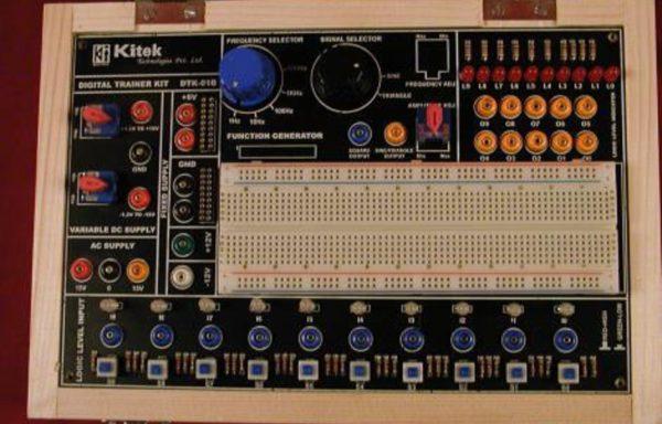 DIGITAL/ANALOG TRAINER KIT Model DTK-01B