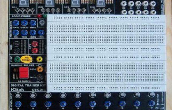 DIGITAL/ANALOG TRAINER KIT MODEL DTK-01E
