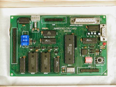 EMBEDDED PROJECT BOARD FOR 8051 FAMILY Model E89-02