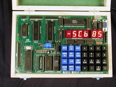 8085 MICROPROCESSOR TRAINING KIT (LED version) Model M85-02