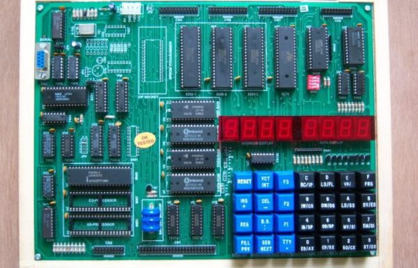 8086/8088 MICROPROCESSOR TRAINING WITH LED DISPLAY KIT Model M86-01