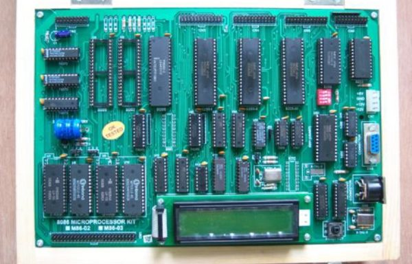 8086/8088 MICROPROCESSOR TRAINING KIT WITH LCD DISPLAY & 101 ASCII KEYBOARD Model M86-02