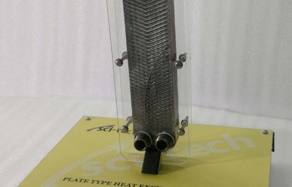 Plate Type Heat Exchanger Cutaway Model THC 010
