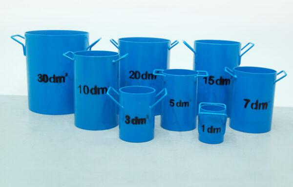 Unit Weight Measures SCTC-0603, SCTA-0705E, SCTC-0607E, SCTC-0610E,SCTC-0615E, SCTA-0720E & SCTC-0630E