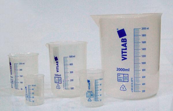 Plastic Beakers SCTGP-0940, SCTGP-0945, SCTGP-0950, SCTGP-0955, SCTGP-0960, SCTGP-0965, SCTGP-0970, SCTGP-0975 & SCTGP-0980