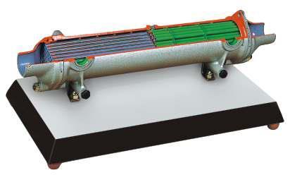 Intercooler Heat Exchanger Model AM 546
