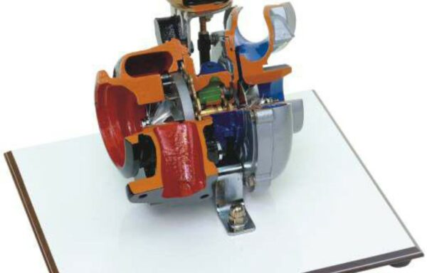 Turbo-Charger with Variable Geometry (on base) Model AM 548